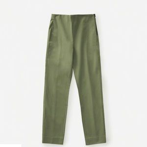 Everlane Side-Zip Stretch Cotton Pant